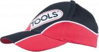 Kappe-rød/sort, kan indstilles i størrelsen